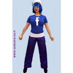 פייסבוק -חולצה מידות גדולת