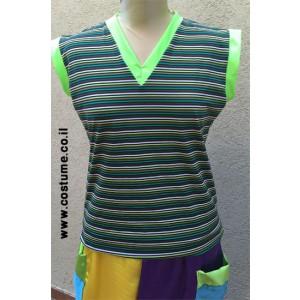 חולצת פסים בצבעים שונים