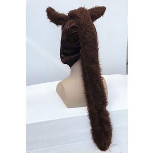 כובע סוס עם רעמה-תפור