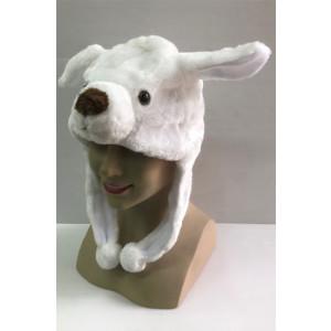 כובע כלבלב לבן