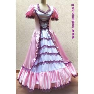 שמלה לנסיכה בורוד