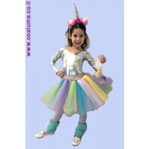 חד קרן צבעונית לילדות