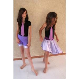 חצאית-אלכסון-ומכנסון-תואם