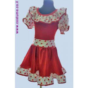 שמלת ילדות דגם וולנים