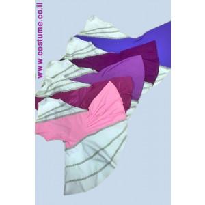 שמלת ילדות דגם אלכסון צבעוני