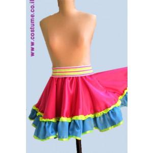 תלבושת למפעילה במידות גדולות  חצאית וולן