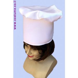 כובע שף גבוה למבוגרים