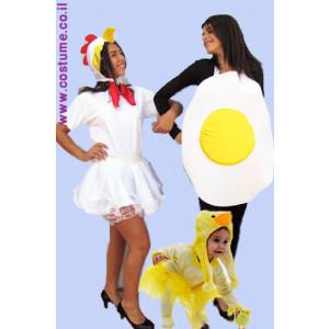 התרנגולת הביצה והאפרוח- למשפחה הצעירה