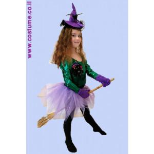 תחפושת לילדות - מכשפה
