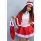 שק מתנות ומצנפת סנטה