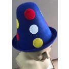 כובע ליצן ילדים- עיגולים