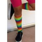 גרביים עם פסים צבעוניות