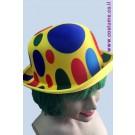 כובע ליצן מגבעת עיגולים