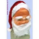 סנטה מסיכה ומצנפת