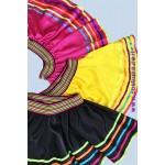 חצאית פסים צבעוניים