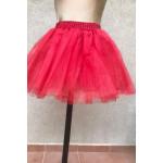 """חצאית טוטו 40עם ביטנה  ס""""מ מנצנצת במגוון צבעים"""