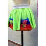 חצאיות מעוטרות