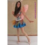 פרפרית חצאית טורקיז