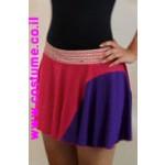 חצאית מעודדת 2 צבעים
