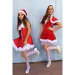 זוג בנות סנטה קלאוס