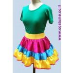 תלבושת למפעילה במידות גדולות  חצאית קומות