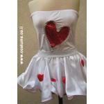 חצאית לבבות