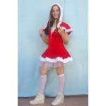 שמלת סנטה עם כובע