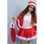 סנטה שק מתנות ומצנפת