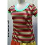חולצת פסים צבעונית