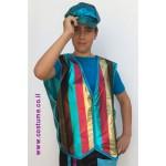 תלבושת למפעיל מידות גדולות - וסט מטלי