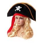 כובע שודד ים סרט אדום