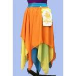 חצאית שלוש שכבות שיפון שפיצים