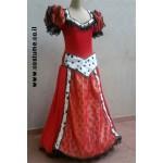 ליידי ונציה  שחור ואדום