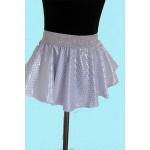 חצאית לבן נוצץ לקטנטנות ובוגרות להשכרה
