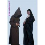 תחפושת מקורית-הנזיר והנזירה הלא זהירה