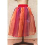 חצאית מידות גדולות  גוונים מתחלפים