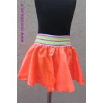 חצאית חלקה שכבה אחת