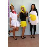 ביצה אפרוח ותרנגולת -לשלושה