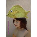 כובע דג זהב
