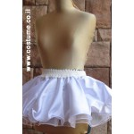 חצאית  מהודרת 3 שכבות שחור או לבן