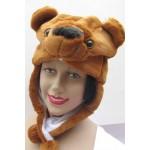 כובע דובי מעוצב