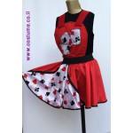 סרבל חצאית מלכת קלפים