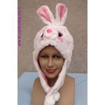 כובע ארנב /שפן  מעוצב