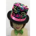 כובע צלינדר צבעוני