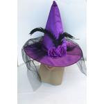 כובע לגברת עם נוצות וטול