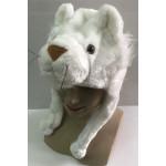 כובע אריה לבן .