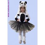 תחפושת דובי פנדה לילדות