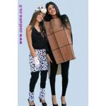 תחפושת לזוג-שוקולד פרה