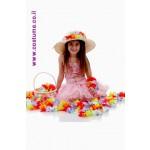 מוכרת פרחים לילדות