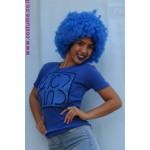 ראש כחול חולצה